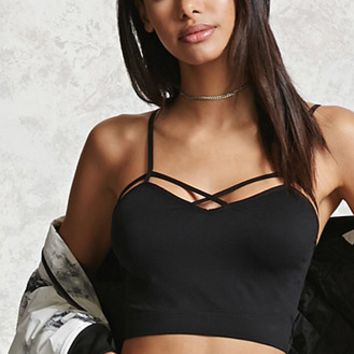 Caged-Cutout Bralette