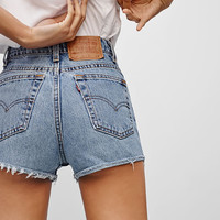 Vintage Denim Cutoff Shorts