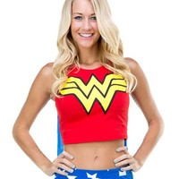 Wonder Woman Tank with Cape – Spirit Halloween