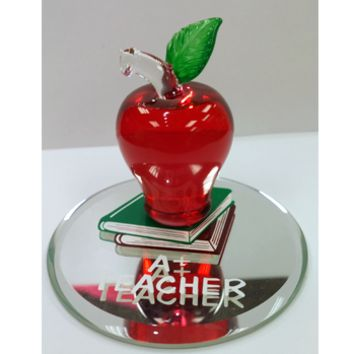 Glass Baron A+ Teacher Figurine