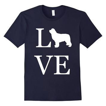 Love Newfoundland Shirt I Love Dogs T-Shirt Graphic Tee