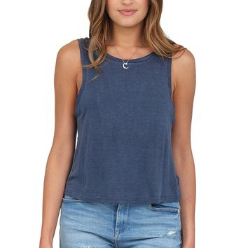Navy Tank Top at Blush Boutique Miami - ShopBlush.com : Blush Boutique Miami – ShopBlush.com