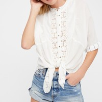 Free People Starlight Buttondown Top