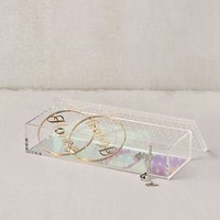 Iridescent Acrylic Jewelry Box | Urban Outfitters