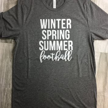 Winter, Spring, Summer, Football