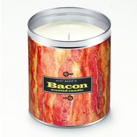 Bacon Strips Candle