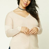 Plus Size Wool-Blend Sweater