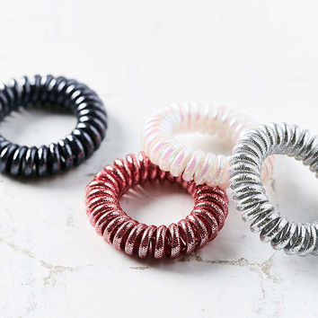 Telephone Cord Hair Tie Set - Urban Outfitters