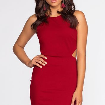 Mila Dress - Scarlet