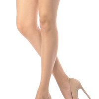 Nude Faux Nubuck Pointy Toe Classic Pumps