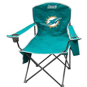 Miami Dolphins XL Cooler Quad Chair