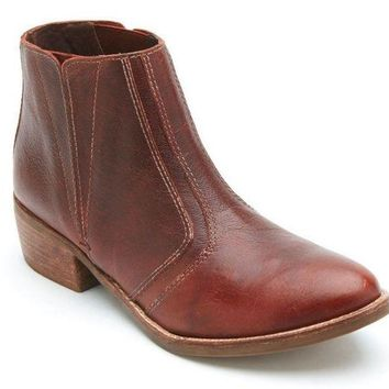 DCCKAB3 Matisse Fury Brown Leather Ankle Booties