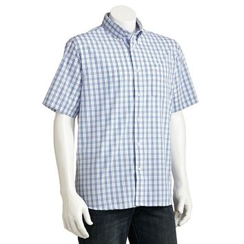 Dockers Plaid Casual Button-Down Shirt