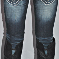ROCK REVIVAL HEATHER S28 SKINNY JEANS