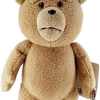 "Ted 16"" Plush with Sound & Moving Mouth, R-Rated, 5 Phrases (Explicit Language)"