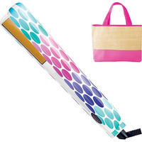 Ultra CHI Tropical Dots Flat Iron