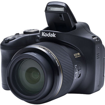 Kodak PIXPRO AZ651 20MP 65x Zoom Camera with 16GB SD & Bag — QVC.com