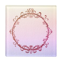 Summer Nightfall Glass Coaster