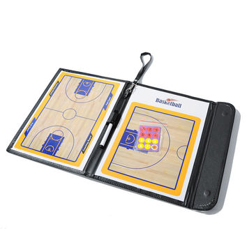 Basketball Coaching  football tactical board  315 x 240mm Board Coaches Clipboard Dry Erase w/marker H1E1