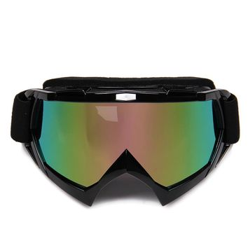Motorcycle Motocross Off-Road Eyewear Downhill Dirt Bike ATV Glasses Winter Ski Snow Snowboard Snowmobile Goggles