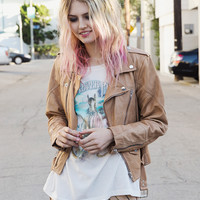 Freewheelin' Leather Jacket - Caramel | Spell & the Gypsy Collective