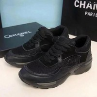 Chanel Women Sneakers Sport Shoes