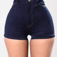 Alejandro Shorts - Dark Blue