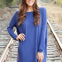Piko Dress - Dark Blue