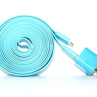 Blue - 10ft iPhone 5 Charger