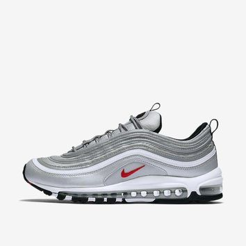 One-nice™ 2017 Nike Air Max 97 OG QS Silver Bullet Size 8-13 LIMITED 100% Authentic
