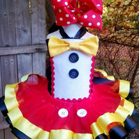 Mickey Mouse birthday tutu, birthday tutu, Mickey tutu, first birthday