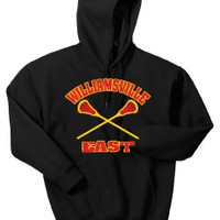 Williamsville East Womens Lacrosse Port & Company Mens- Ultimate Pullover Hooded Sweatshirt