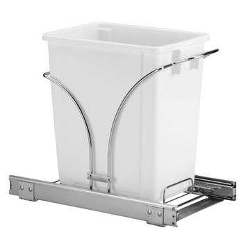 Glidez 5-Gallon Pull-Out Trash Can