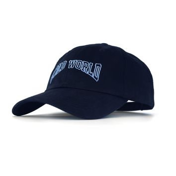 Cold World Unstructured 6-Panel Navy