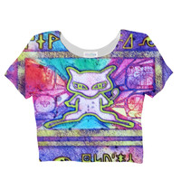 Ancient Mew Crop Top