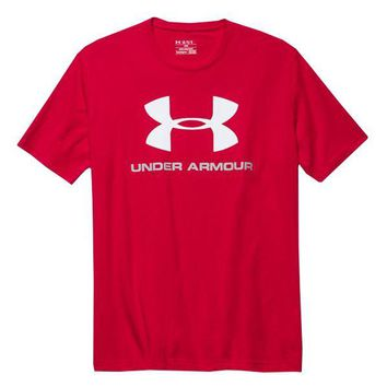 Under Armour Men's Charged Cotton Sportstyle Logo T-Shirt