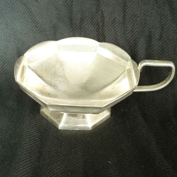 Antique candy dish, silver plated candy dish, silver nut dish, small silver plated serving bowl
