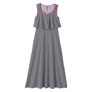 SO Flutter Top Maxi Dress - Girls'