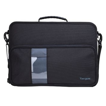 Targus TKC002 Work-in Polyester Hard-Sided Shell Case for 14 Chromebook w-Shoulder Strap (Black)