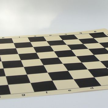 Silicone Chess Mat Roll Flat