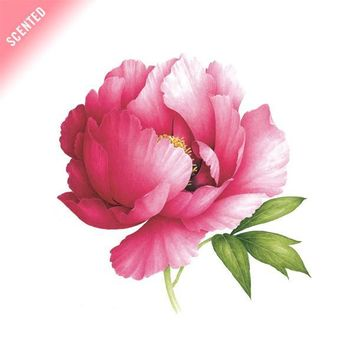Pink Peony (Scented) by Vincent Jeannerot from Tattly Temporary Tattoos