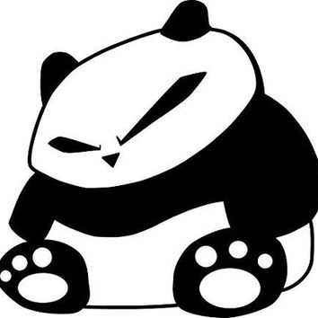 JDM Panda Car Decal Window Wall Laptop