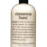 philosophy cinnamon buns ultra rich 3-in-1 shampoo, body wash, and bubble bath, 16 oz. - Bath & Body - Beauty - Macy's