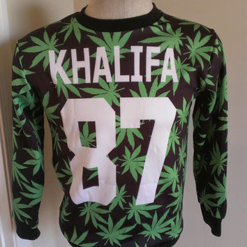 Wiz Khalifa All over print Weed Shirt