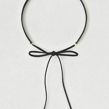 AEO Black Bow Choker , Black