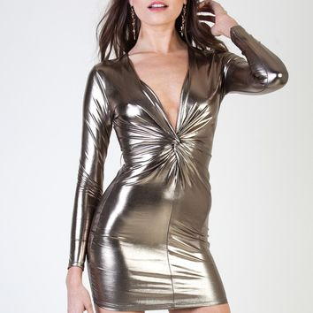 Liquid Gold Dress