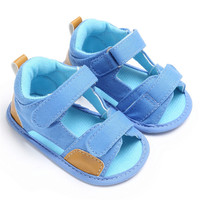 Newborn Baby Boy Shoes Soft Sole Crib Infant Sandals