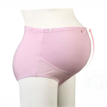 Maternity Intimates Cotton Maternity Panties High-waist Panties For Pregnant Women Plus Size