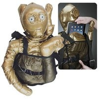Star Wars C-3PO Back Buddy - Comic Images - Star Wars - Plush at Entertainment Earth