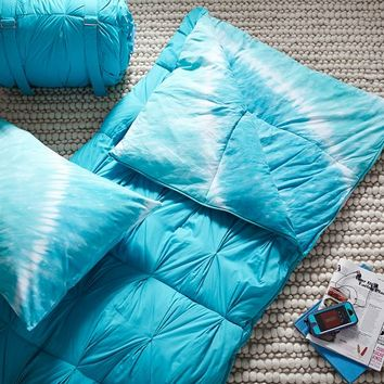 Tie Dye Sleeping Bag + Pillow Case, Pool